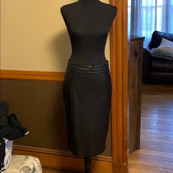The Limited Dresses & Skirts - The limited faux leather skirt